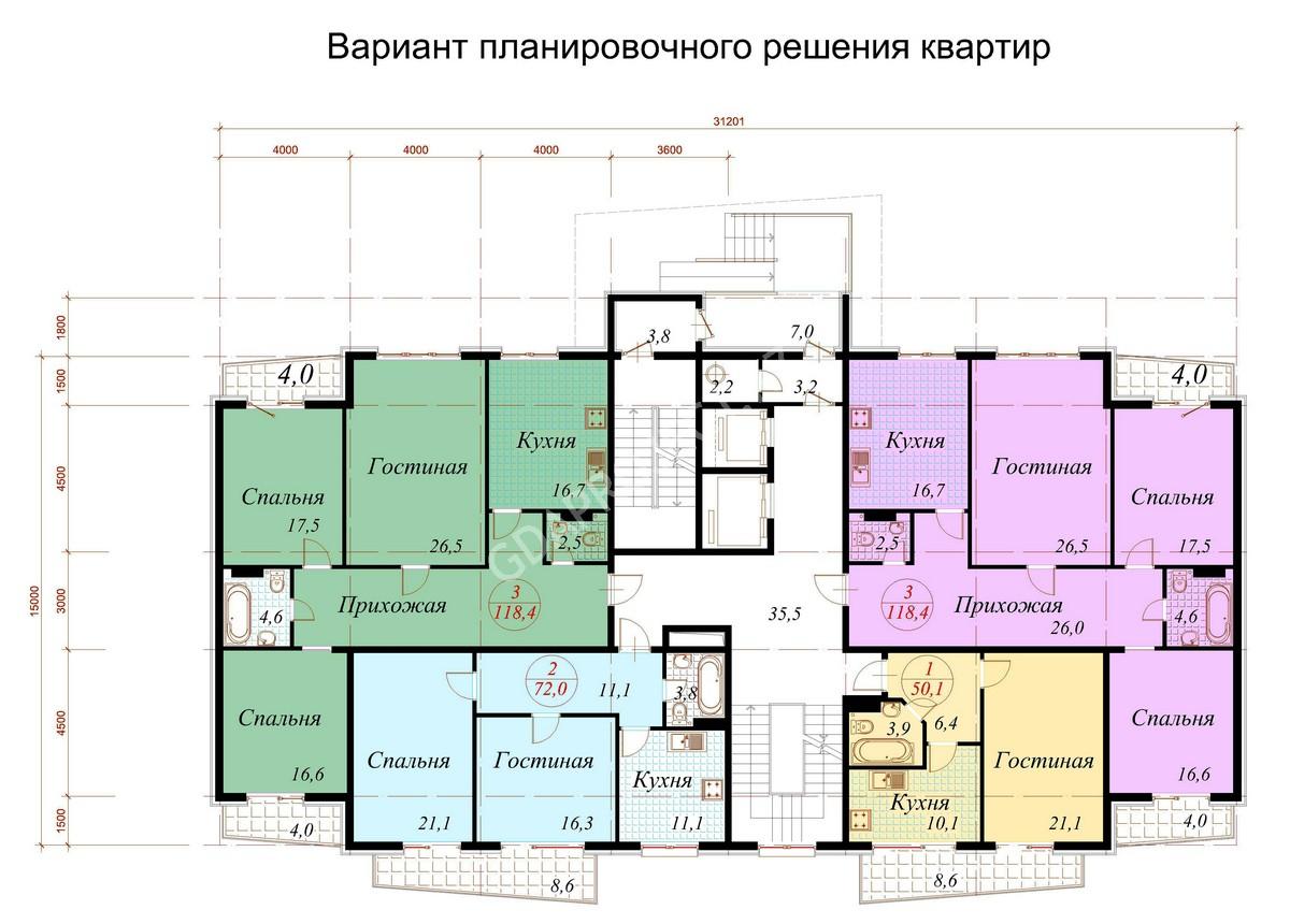 ЖК на территории в 10 га. в г. Алматы