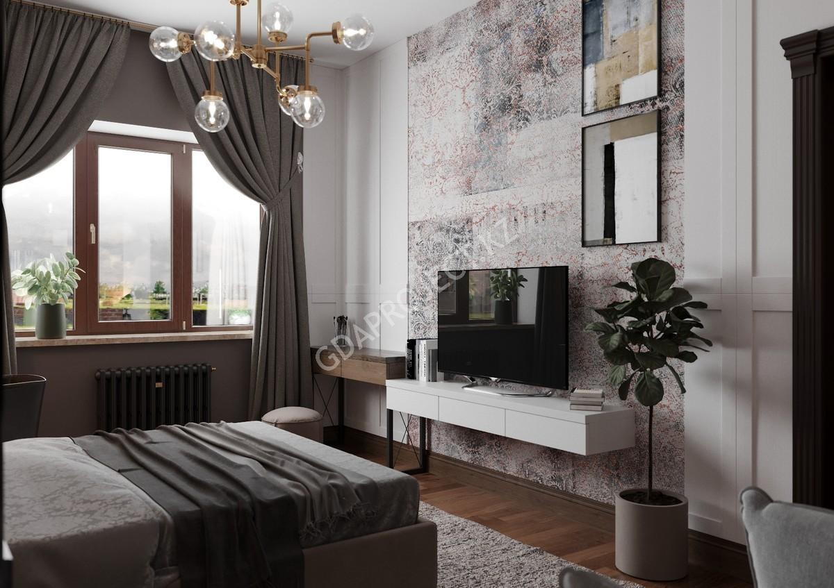 Дизайн интерьера дома в г. Астана