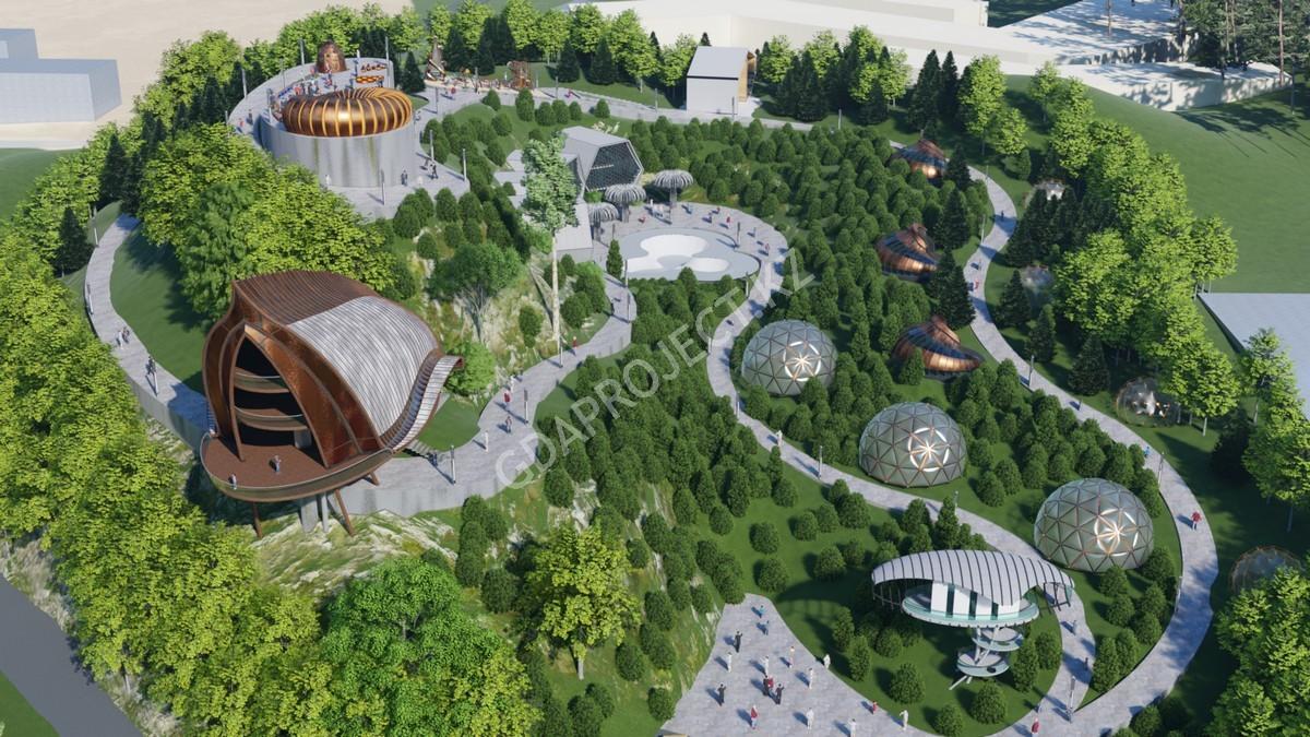 Парк научных развлечений и активного отдыха по улице Аль-Фараби