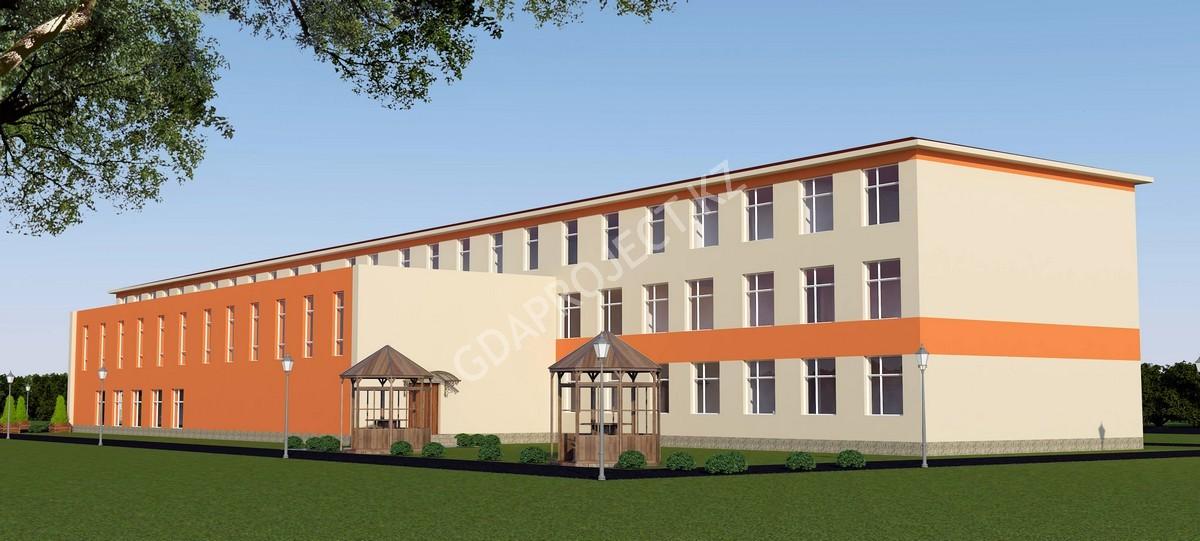 Капитальный ремонт здания «Средней школы с дошкольным мини центром им. Туркебаева»