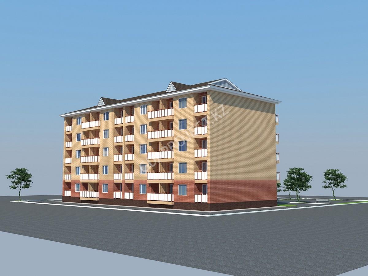 Разработка ПСД на строительство 5 этажного жилого дома с цокольным этажом