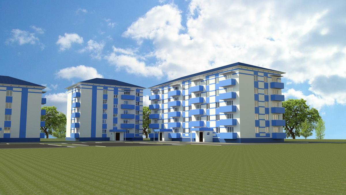 Разработка ПСД «Строительство 60-квартирного жилого дома»