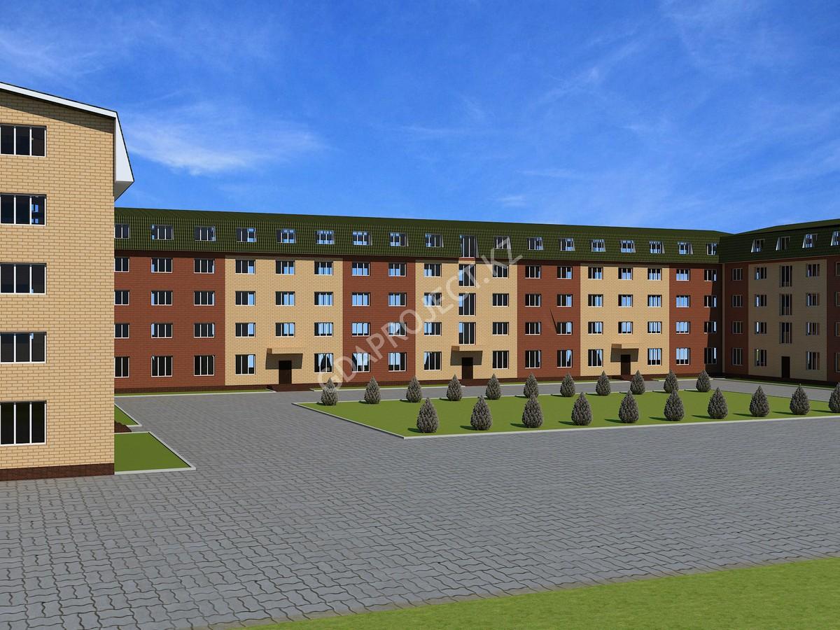 Строительство общежития на 600 мест